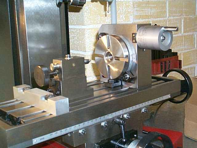 Milling Machine Rotary Table Milling Turning Welding