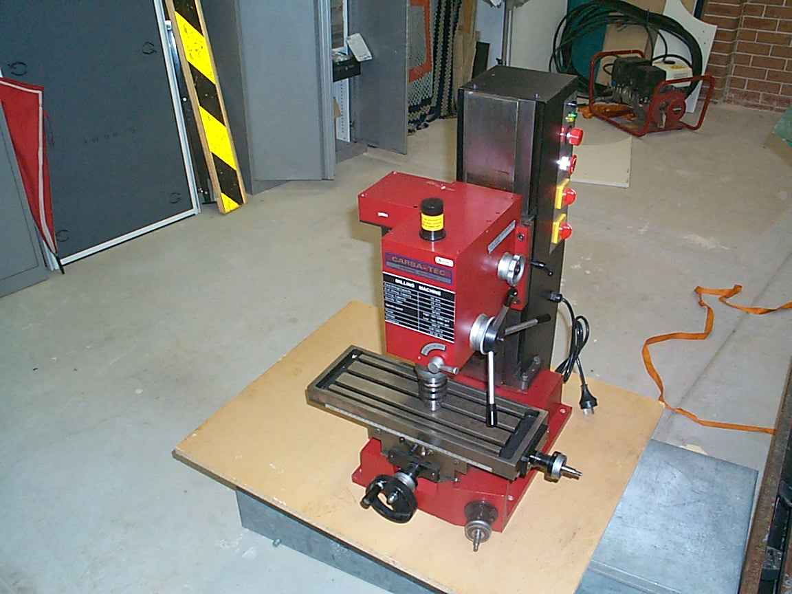 Sieg X3 Milling Machine | Milling,Turning,Welding | Home