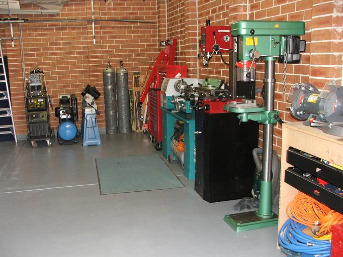 Home Machine Shop Layout